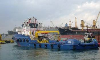 Anchor Handling Tug Supply Vessel - Ievoli Orange